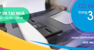 Sửa máy in tại nhà tphcm giá rẻ - uy tín