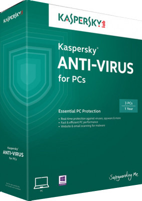 KASPERSKY ANTIVIRUS 2014 3PC