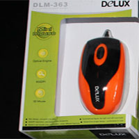 Mouse USB Delux 363
